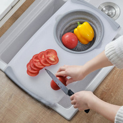 Multi-Function Cutting Board Eco-Friendly Wheat Straw Chopping Fruit Food Vegetable for Kitchen Accessories
