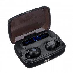 F9 TWS LED Battery Display Wireless bluetooth Earphone Headphones with Mic for Xiaomi Huawei