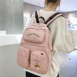 Women Large Capacity Waterproof Causal Backpack