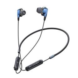 BlitzWolf BW-BTS4 bluetooth 5.0 Earphone Wireless Neckband Dual Dynamic Driver Magnetic Sports Headphone with Mic