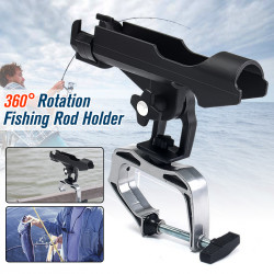 Bobing RH20 Rotatable 360 Degree Spinning Fishing Rod Fixed Holder Boat Fence Mount Kit Kayak Side Sea Fish Tackle Access Tools