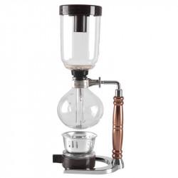 Japanese Style Siphon 360ml Glass Coffee maker Tea Siphon Pot Vacuum Coffee Maker Coffee Machine Filter Kahve Makinas