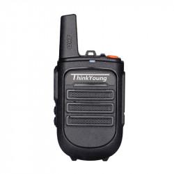 Thinkyoung 828 5W IP54 Waterproof Dustproof Mini Handheld Radio Walkie Talkie Interphone Civilian Intercom