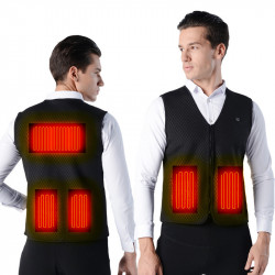 TENGOO Warm-H USB Electric Charging Heated Coats Intelligent 3 Modes Heating Vest