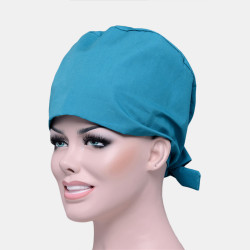Solid Color Scrub Cap Surgical Hat Nurse Doctor Cap Veterinarian Hat