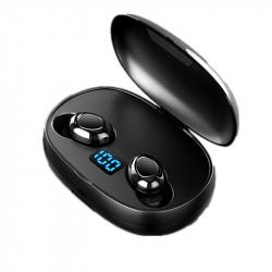 Bakeey T3 TWS bluetooth 5.0 Earphone 6D HiFi Stereo Sports Earbuds Bilateral Calls Headphone with 2500mAh Power Bank