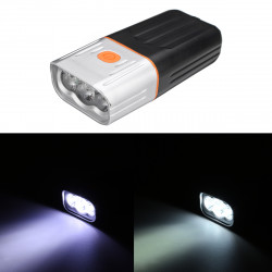 BIKIGHT 800LM T6/L2 Bicycle Light Mountain Bike LED Flashlight Night Riding Headlight USB Charging