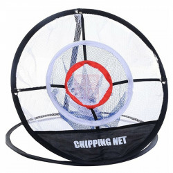 3 Layer Folding Golf Training Net Practice Cutting Rod Mesh Netting  Golf Training Equipment With Storage Bag