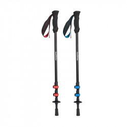 Naturehike 3-Section Aluminum Folding Trekking Pole Adjustable Walking Stick Travel Camping Hiking Cane