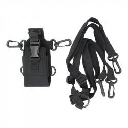 Walkie Talkie Storage Bag Waist Hanging Bag Interphone Intercom Radio Case Holder Pouch Bag