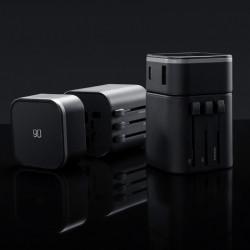 Xiaomi 90FUN 2 In 1 Multi-function Conversion Plug Travel EU US AU CN UK USB Type-C Plug Adapter Converter