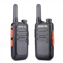 2PCS Retevis RT69 2W 1200mAh Handheld Radio Walkie Talkie Scanning Climbing Civilian Interphone