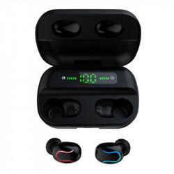 Wireless Stereo bluetooth 5.0 TWS Earphone Dual Digital Display Sports Headphones for Xiaomi Huawei