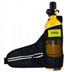 DIDEEP 1L Oxygen Tank Bag Underwater Equipment Swimming Diving Accessories