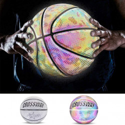 Luminous NO.7 Basketball Reflective Basketball Boys Glowing Luminous Street Basketball
