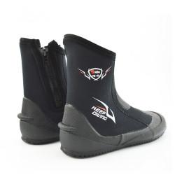 KEEP DIVING DB-151 5MM Neoprene Antiskid Soft Vulcanized Diving Shoes Fishing Shoes Diving Equipment-L/XL/2XL/3XL