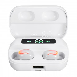 Mini Portable TWS bluetooth 5.0 Earphone Wireless Earbuds Stereo Bilateral Call Headphone for iPhone Xiaomi Huawei