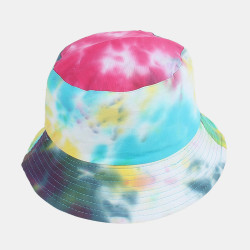 Colorful Graffiti Fisherman Hat Sunscreen Basin Hat Bucket Hat
