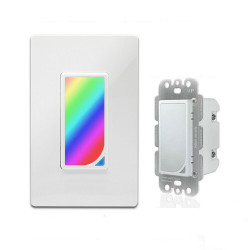 Bakeey 10A DIY RGB Scene US Type Smart WIFI Switch Tuya APP Remote Control Timing