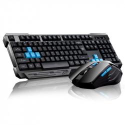 2.4GHz Wireless Keyboard & Mouse Combo Set WAterproof Auto Sleep Keyboard for Desktop PC Laptop Notebook