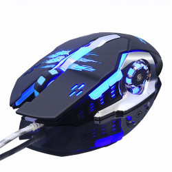 ZUOYA MMR4 Wired Mouse Gamer Mice LED Desktop Gaming Computer Optical Game Mice For Laptop PC Computer Support LOL Macro Programming