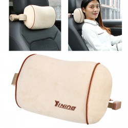 Multi-functional Foldable Car Headrest Seat Pillow w/ Phone Rack Travel Fitness Relaxing Sleep U-Shaped Neck Pillow