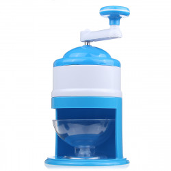 Portable Ice Shaver Hand Crank Manual Ice Crusher Shredding Maker Machine Tool for Home