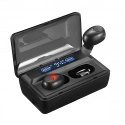 T8 TWS bluetooth 5.0 Earphone HiFi Stereo Wireless Earbuds 4000mAh Power Bank Headphone with Mic