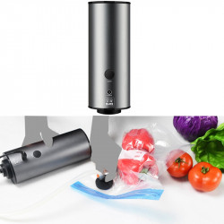 Mini Travel Storage Bag Vacuum Pump Sealer Food Fresh-Keeping Sealing Machine EU Plug
