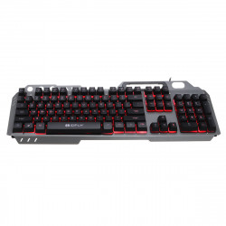 104Key RGB LED Backlight Ergonomic Design Gaming keyboard and 1600DPI RGB Mouse Combo