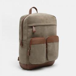 Vinatge Canvas Backpack Multi-Layer Bag For Men