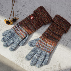 Vintage Glove Knitted Warm Gloves