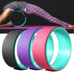 33x13cm TPE Muslce Relaxion Yoga Ring Abdominal Wheel Roller Backward Bend Fitness Yoga Circle