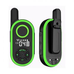 1PC ThinkYoung Q6 3W Mini Handheld Radio Walkie Talkie USB Charging Interphone Civilian Intercom