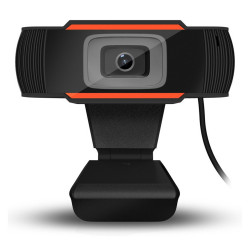 Bakeey 3LED 640*480P HD Two Way Audio Talk Rotatable Webcam Digital USB Camera Video Recording with Microphone For PC