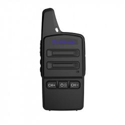 1PC ThinkYoung Q11 2W Mini Utra Thin Handheld Radio Walkie Talkie Driving Hotel Civilian Interphone Intercom