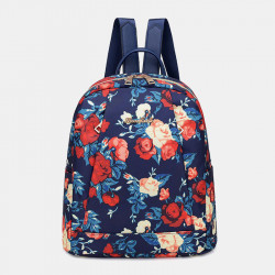 Women Light Weight Waterproof Nylon Backpack Shoulder Bag