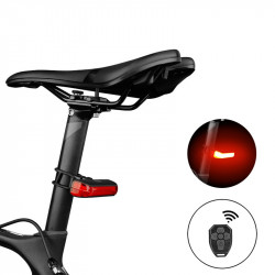 XANES TL33 Indicator Turn Signal Light Wireless Remote Bike Tail Light USB Rechargeable IPX4 Waterproof 6 Modes Cycling Warning Rear Lamp