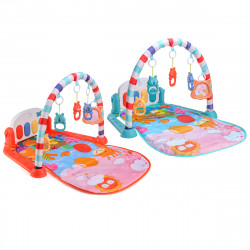 Baby Musical Fitness Play Mat Piano Keyboard Gym Carpet Educational Toys For 0-24