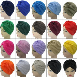 Middle East Convenient Simple Hooded Hat Indian Cap Turban Hat African Hat Universal Scarf Turban Hat