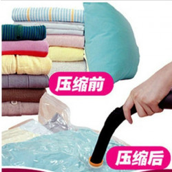 Vacuum Bags Clothes Storage Plastic Bag Sealing Pump Travel