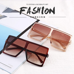 Women Sunglasses Classic Square Very Large Oversized Glasses