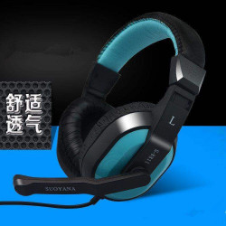 8811 Headphones Desktop Computer Game Headset Cafe Music