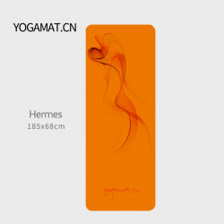 Yogamat Yoga Mat Female Non-Slip Widening And Lengthening Thin Fitness Yoga Blanket Rubber Compound Suede