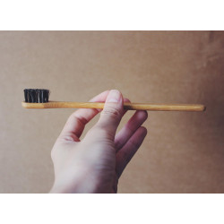 The Bulk House Taiwan Imported Degradable Bamboo Toothbrush Bamboo Toothbrush Zero Waste