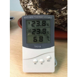 Digital Maxmin Thermo Hygro Lcd Thermometer Weather  Station