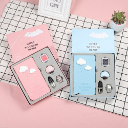 Cloud Cactus Aroma Notebook Diary Set Notepad Stationery