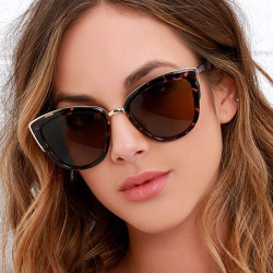 Cat Eye Shade For Women Fashion Sunglasses Brand Woman Vinta