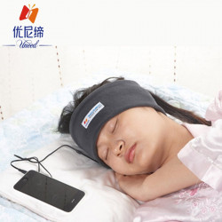 Head With Plush Sleep Headphones Sports Headband Music Slee