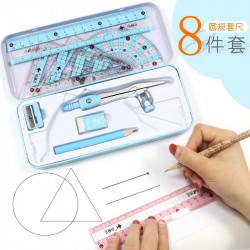 Tools Stationery  Set Primary School Mathematics Compass Set